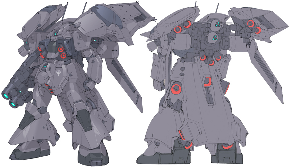 AMX-011EW ZAKU III RECON TYPE | Zeonic|Scanlations